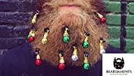 Beardaments – Beard Ornaments 12 Pack…