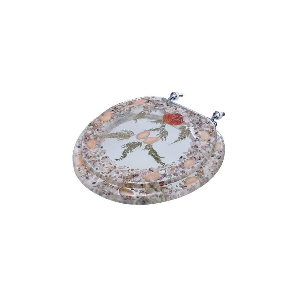 Clear Sea Shell Standard Toilet Seat Home Amp Kitchen