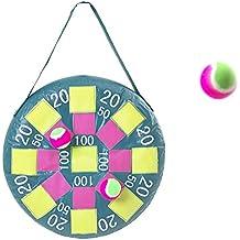 Garden Games Target Toss Fun Inflatable Dart Board With Velcro Balls