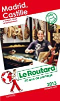 Le Routard Madrid Castille 2013