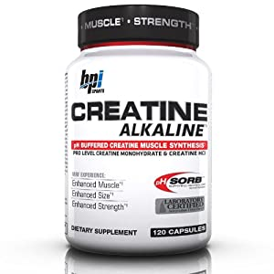 BPI Sports - Clinical PowerSeries Creatine Alkaline - 120 Capsules LUCKY PRICE