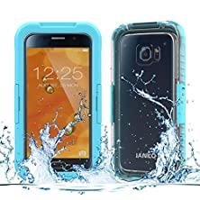 buy Samsung Galaxy Note 4 Waterproof Case, Ianko Ip68 Qualified Heavy Duty Ultra-Rugged Full-Body Snowproof Waterproof Shockproof Dustproof Protective Phone Case For Galaxy Note 4