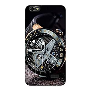 Stylish Watch Cool Multicolor Back Case Cover for Honor 4C