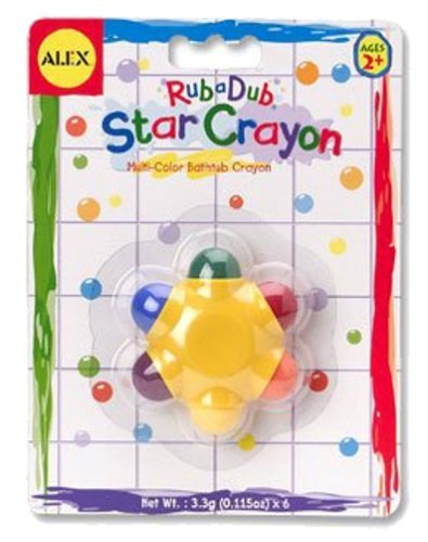 Alexâ® Toys - Bathtime Fun Star Crayon In The Tub 639S Toy, Kids, Play, Children front-757939