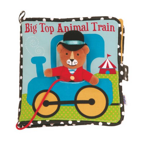 Manhattan Toy Big Top Animal Train Soft Activity Book