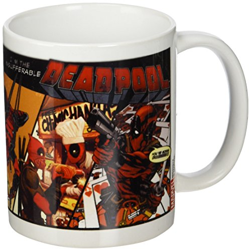 Deadpool Comic Insufferable-Tazza in ceramica, multicolore
