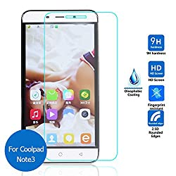 ASCARI Safety Tempered Protective Glass Film 0.3mm For Coolpad Dazen Note3 dual Dashen Note 3 Slim Screen Protector on phone