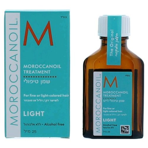Moroccan Oil LIGHT - Oil Treatment For Fine & Light-Colored Hair (.85 oz. Travel)