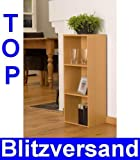 Bücherregal, Regal, Holzregal, Kinderzimmer, Wohnzimmer