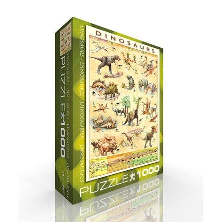 Cheap Eurographics Dinosaurs Jigsaw Puzzle, 1000 pieces (B0019N4ED6)