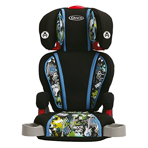 graco high back turbo booster seat rock out baby safety shop. Black Bedroom Furniture Sets. Home Design Ideas