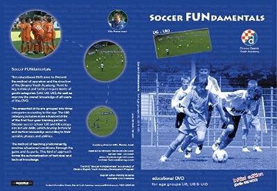 DVD Dinamo Zagreb Soccer FUNdamentals U6,U8,U10 - by Romeo Jozak