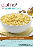 Glutino Gluten-Free Cereal, Honey Nut, 10.1-Ounce Boxes (Pack of 6)