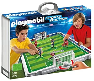 Playmobil - Fútbol Set De Fútbol Maletín (626663)