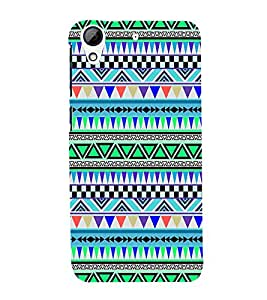 Beautiful Abstract Pattern Cute Fashion 3D Hard Polycarbonate Designer Back Case Cover for HTC Desire 728 Dual Sim :: HTC Desire 728G Dual Sim