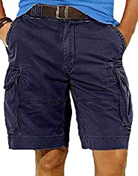 Polo Ralph Lauren Men\'s Gellar Fatigue Cargo Shorts (29, Aviator Navy)