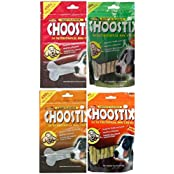 Choostix Treats Combo Pack Of 4 (mix Flavors)