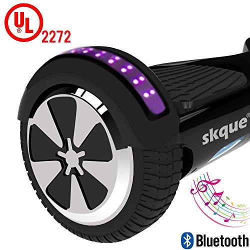 Self-Balancing-Scooter-Skque-65-I13-UL2272-Smart-Two-Wheel-Self-Balancing-Electric-Scooter-with-Bluetooth-Speaker-and-LED-Lights-Black