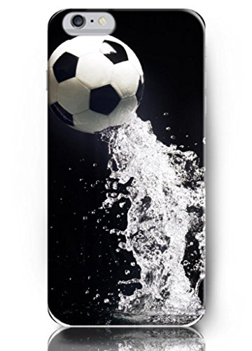 Ouo Classic 5.5 Inch Iphone 6 Plus Case With The Design Of Classic Soccer Ball Jump Into Water