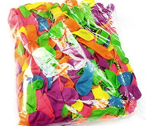 Mylife Multi Colored - Flexible Latex Rubber (200 Count Pack - Standard Size) Water Bomb Grenade Balloons (Great Fun For The Whole Family) front-1015946