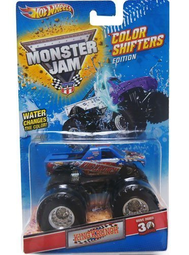 KING KRUNCH Hot Wheels Monster Jam Color Shifters Edition 1:64-Scale Truck - 1