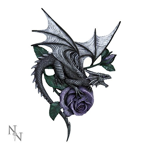 "Dragon-Targa da parete """" 40 cm, motivo: Anne Stokes-Nemesis Now"