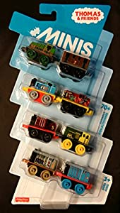 Thomas and Friends Minis Pack of 8 (Gator, Toby, Thomas, Salty, James, Bert, Henry, Gordon)