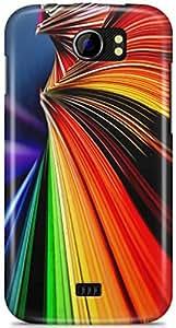 AKMOBI Designer Hard Back Case Cover For Micromax Canvas 2 A110