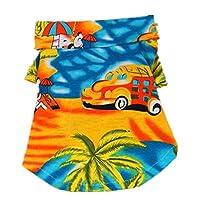 Pet Dog Cat T Shirt Clothing Shirt Puppy Clothes Summer Apparel Beachwear Outfit