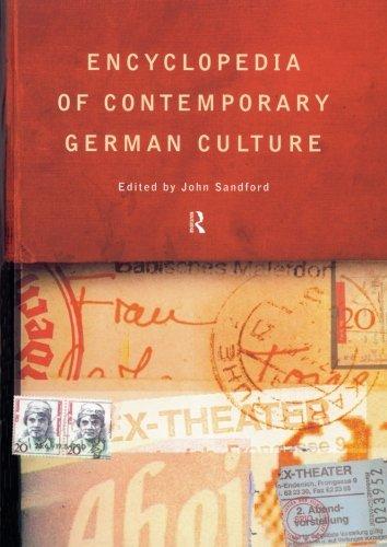 Encyclopedia of Contemporary German Culture (Encyclopedias of Contemporary Culture)