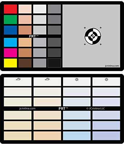 3in1 Photo Reference Tool Gray Card Target White Balance Exposure Temperature Color Calibration Chart Perfect for Photography & Video Test to Calibrate Canon Nikon Sony Olympus FujiFilm Camera Photo (Photography Color Chart compare prices)