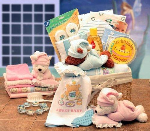 Sweet Dreams Baby New Baby Hamper - Girl Pink front-28563