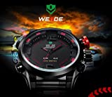 weide Granville alarm led waterproof stainless steel watch brand with a high-end mens business watch