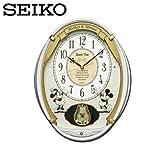 セイコー SEIKO 電波掛け時計 FW567W ディズニータイム からくり時計 電波時計 ミッキー ミニー