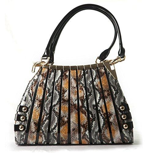 BRAVO-Handbag-Irina-Signature-Series-Python-Print-Large