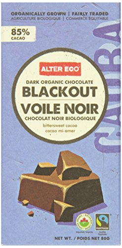 Alter Eco Foods Organic Chocolate Dark Blackout
