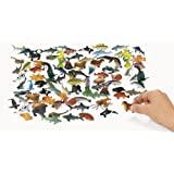 Under The Sea Plastic Sea Life Creatures 90 pc