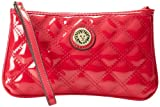 Anne Klein Present Time Medium Wristlet,Watermelon,One Size