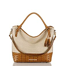 Norah Hobo Bag<br>Whiskey Raffia