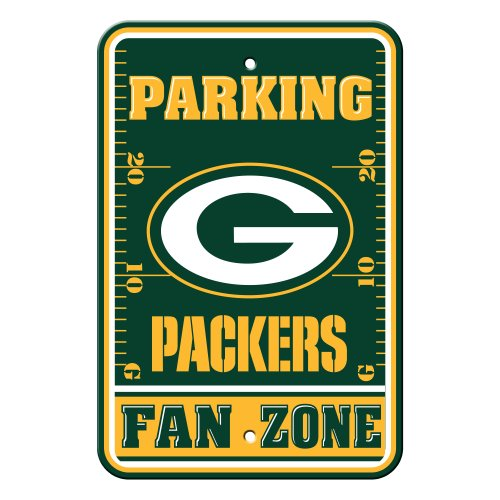 NFL Green Bay Packers Plastic Parking Signs at Amazon.com