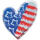 Heart-Shaped America Sticker Trade Show Giveaway