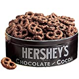 Hersheys Collection Milk Chocolate Covered Pretzels Tin