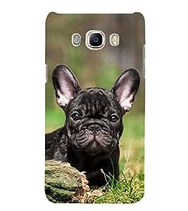 Cute Dog 3D Hard Polycarbonate Designer Back Case Cover for Samsung Galaxy J7 (6) 2016 Edition :: Samsung Galaxy J7 (2016) Duos :: Samsung Galaxy J7 2016 J710F J710FN J710M J710H