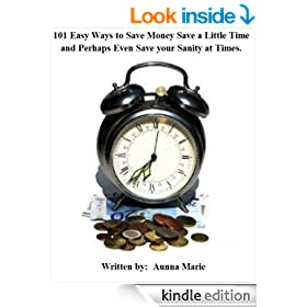 101 Easy Ways to Save Money Save a Little Time and Perhaps Even Save your Sanity at Times.