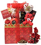 Great Arrivals Wedding Anniversary Gift Basket, Hugs and Kisses