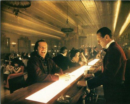 Shining Jack Nicholson Photograph