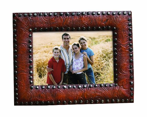 Prinz 5 by 7-Inch New Frontier Frame (Leather Picture Frame 5x7 compare prices)