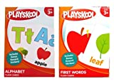 PLAYSKOOL Alphabet and First Words Flash Cards (2 sets) 36 Cards per Set