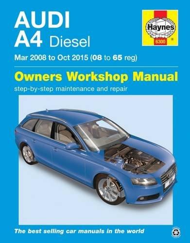 audi-a4-diesel-mar-08-oct-15-haynes-repair-manual-08-to-65