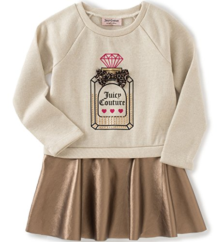 juicy-couture-little-girls-toddler-dress-with-faux-pleather-skirt-oatmeal-4t